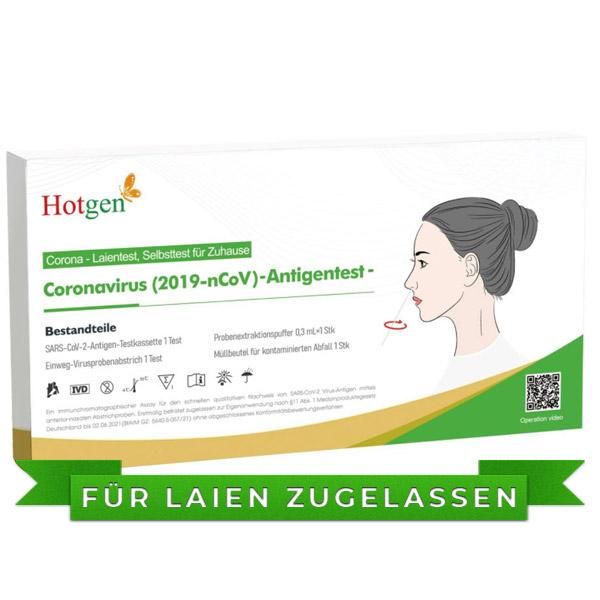 HOTGEN Covid-19 Antigen Schnelltest