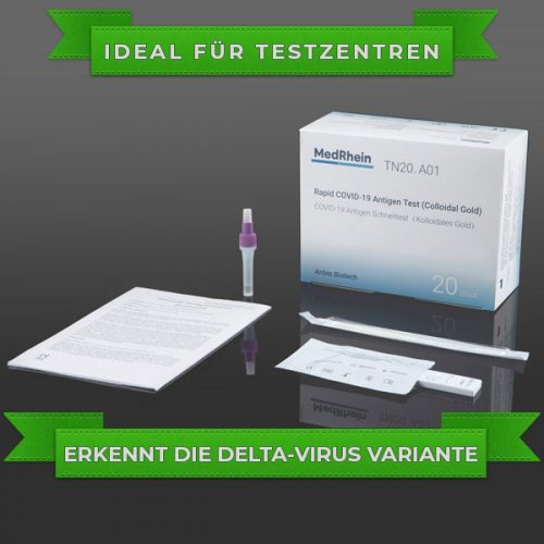 Schnelltest COVID-19 Anbio Xiamen Antigen Rapid Test Kit