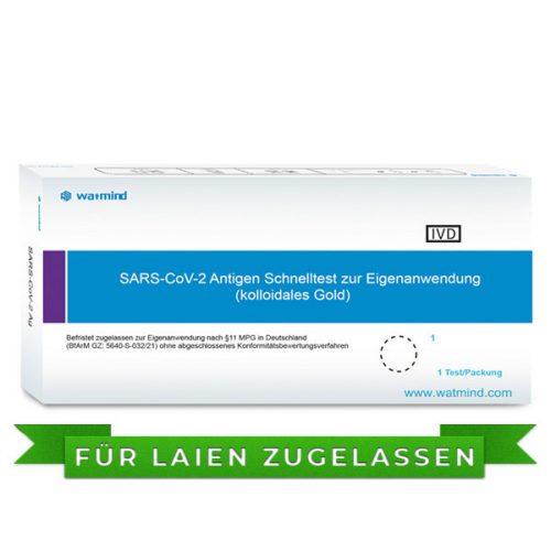 Watmind COVID-19 / SARS-COV-2 Antigen Schnelltest / Lolly-Test