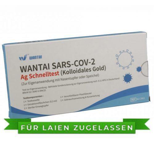 Wantai COVID-19 / SARS-COV-2 Antigen Schnelltest